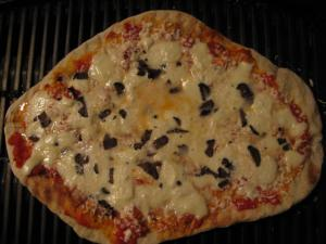 Grilled Truffle Pizza