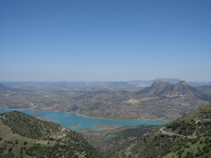 The road outside Grazalema, Spain