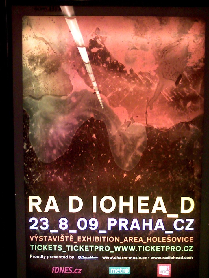 Radiohead Prague Metro