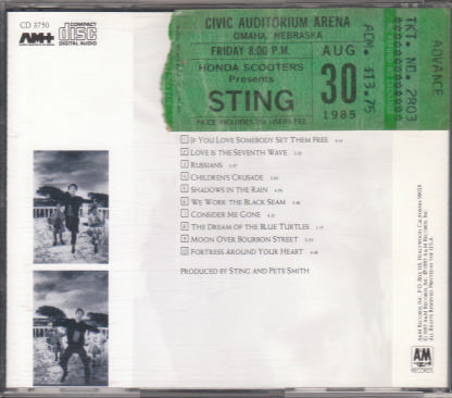 Sting Ticket