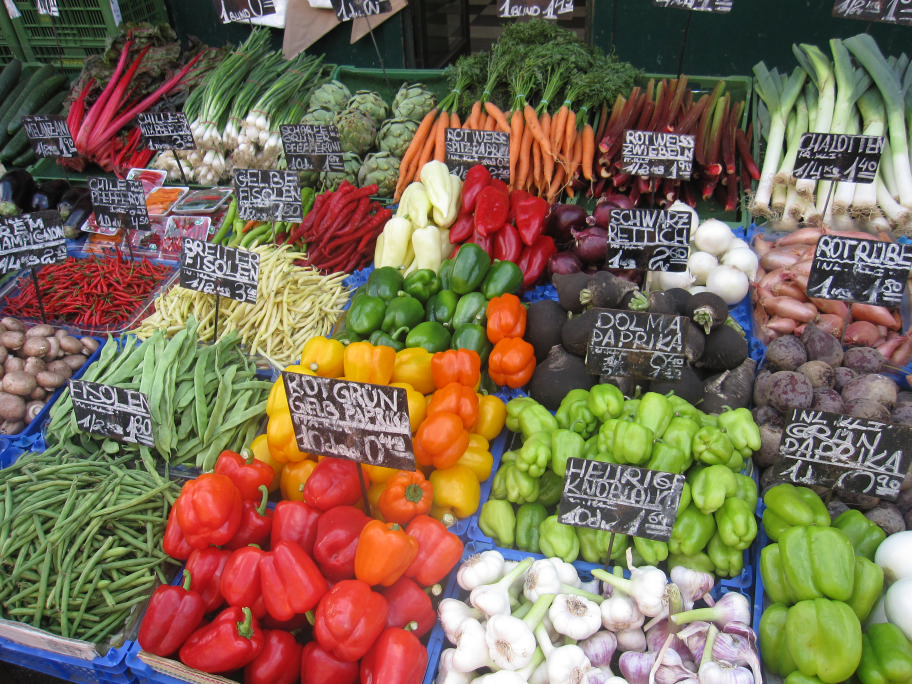 Naschmarkt Fresh Vegetables