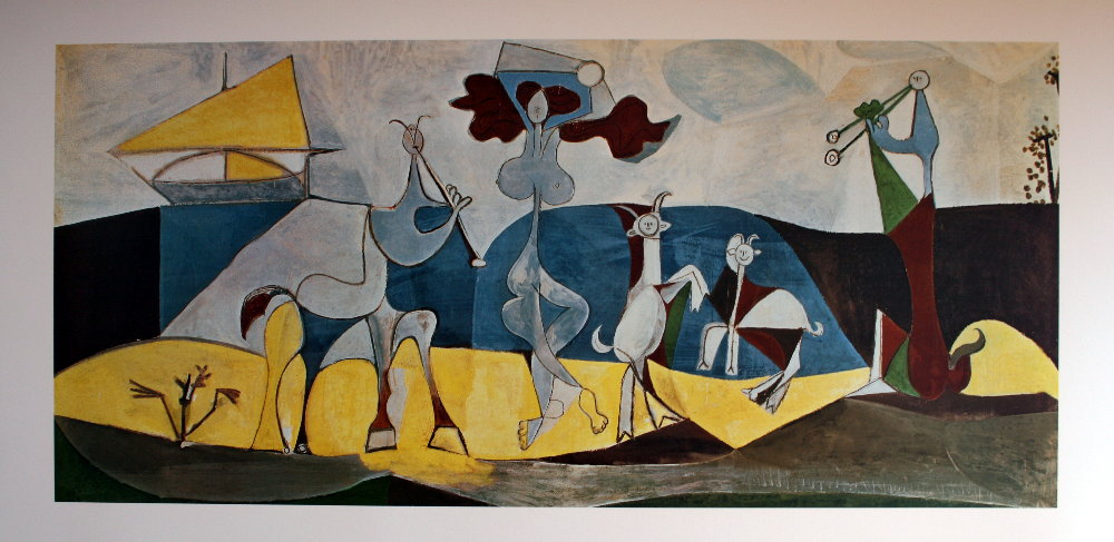 Picasso Museum Antibes France Nothemingway