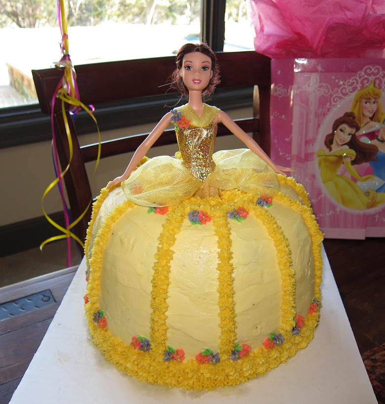 Belle Princess and Hello Kitty Cake – NotHemingway