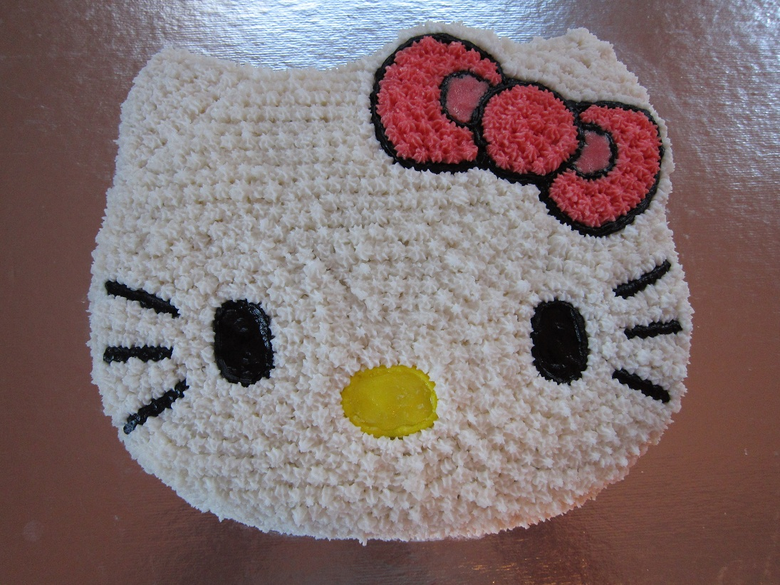 Images Of A Hello Kitty Cake : Family NotHemingway