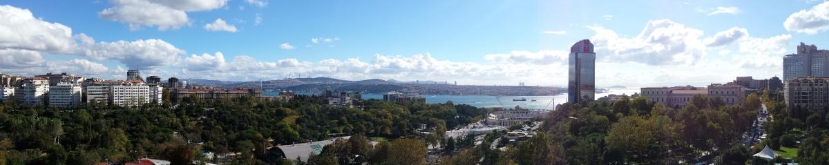Istanbul Panorama - Hilton Bosphorus